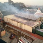 BREAKING NEWS: #BigBrotherAfrica house on fire! http://t.co/sHlcNy0HOK