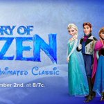 RT @ABCNetwork: TONIGHT at 8 7c, #DisneyAnimation reveals the making of FROZEN and how it almost never got made! #MakingFrozen http://t.co/2HBPhN08Vk