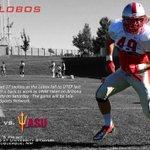 Go Lobos! 9/6/14 - UNM vs ASU @ 5pm MT on CBS Sports Network #owohod #golobos #newmexicofb http://t.co/d4KUg19yO3