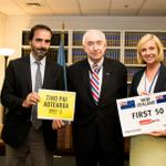 RT @controlarms: Today we witnessed New Zealand's big #ArmsTreaty milestone. Welcome to the #RaceTo50. w/ CA member @amnesty & @NZUN http://t.co/XOKJLkaauc