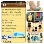1st Hand Fashion Supplier ♥ Mulai 30-60K ♥ Join khusus reseller inv pin:3138E9F8 ♥ Follow @wulanMODE_ http://t.co/34DJJHwvTy