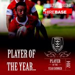 And your 2014 Player of the Year is that man again, Josh Hodgson! Well done Josh #HKRPOYA2014 http://t.co/KP8sa02Xqg