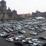 RT @Magda_AlfaroM: Usan zócalo como estacionamiento para invitados al Informe de EPN. http://t.co/b0EXC4nxYK Abiertamente HdP