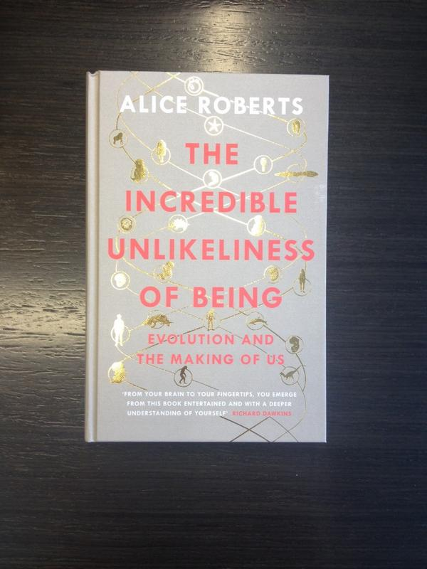 We have FIVE copies of The Incredible Unlikeliness of Being by @DrAliceRoberts to giveaway! RT by 6pm to win. http://t.co/SQfZA2R8Mk