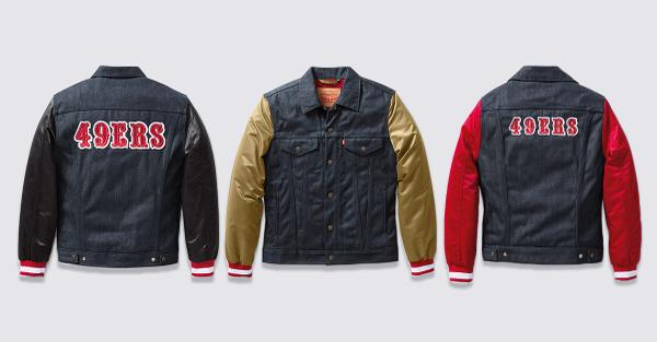 The #Levisx49ers collection. Made to be worn with pride on Sundays and every day between > http://t.co/7tW6mCx0UG http://t.co/tLlcff3ydW