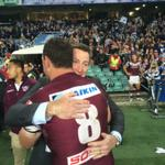 RT @SeaEagles: Two legends embrace. Jason King and @stevemenzies11! Thanks for everything Kingy! #Legends http://t.co/DGOHR5O3Y6