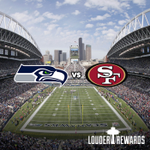 RT @LouderRewards: Join Louder Rewards and you could win tickets to the 49ers VS Seahawks game! Enter to win NOW http://t.co/oUBrL2FXxj http://t.co/0kQSZ6xgOP