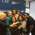 RT @mcvasilic: #Progress4Women selfies w/ @HillaryClinton @neeratanden @NancyPelosi @pattymurray @sengillibrand @rosadelauro http://t.co/NP2mNnzM0W