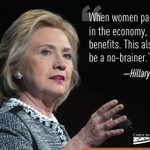 Want to hear more from @HillaryClinton? Tune in TODAY 11:30am at http://t.co/fggFBYKOX8 and follow #Progress4Women http://t.co/3rug5048ei