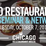 RT @ChooseChicago: Hey #Chicago restaurants, Chicago Restaurant Week is on the way. Join us 10/7 to learn more: http://t.co/fOPIjuQkON http://t.co/Y8Dn7l1JRt