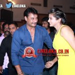 RT @cineloka: Lovely Snap of Box office SULTAN Challenging * @dasadarshan & Gorgeous @priyamani6 at #Ambareesha Platinum Disc Event http://…