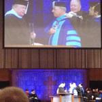 RT @nathanielcary: Larry Jackson, chair of the board of trustees, places BJU medallion around neck of @BJUPresident http://t.co/XaXGXUVjmV