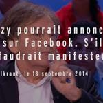 RT @GrdJournal BREAKING NEWS : Alain FinkielCoke l'avait prédit : http://t.co/cgjzdVSiB3 #SarkozyLeRetour http://t.co/eynqwowXD1