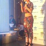 RT @fashionsnap: リタ・オラが、adidas Originals(アディダス オリジナルス)」とのコラボレーションコレクション発売を記念し来日 http://t.co/9v3ZLrQOtu http://t.co/JkIxcYlEmC