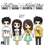 "RT @JaDinEyoss_: ""@WeLoveJADINE: JaDine x KathNiel Fanart by @yhaniks ♡ So cute! ☆ • KathNiel And JaDine National Friendship Day http://t.co/fR9nWhYW1b"""