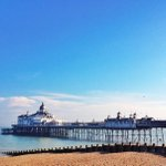 """RT what a beautiful day in Eastbourne! """"@rekoobb: Eastbourne on a calm day ... http://t.co/fK8dN7egqR"""""""