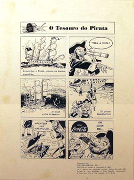 "Lets celebrate ""Talk Like a Pirate Day!"" Here is a 1953 Brazilian print ad with pirates. ^TR http://t.co/zH1Z1Whi3s"