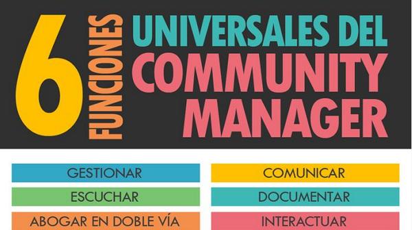 6 Funciones universales del Community Manager http://t.co/1Tp6JQDDO7 http://t.co/iJ7ll69NUc