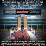 Continue the march to $3 million with @Thorntonsinc and the #CAF! Visit http://t.co/owGAO1lMuP today. #L1C4 http://t.co/o3TOHQzP5E
