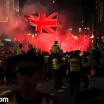RT @PeterMcGuireIE: BBC pretend no sectarian/fascist riots in #Glasgow, Sky deceives viewers that its good-natured. Shameful #indyref http://t.co/RZoXciNfhr