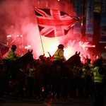 RT @ScottishSun: Unionist thugs clashed with cops and Yes supporters as violence flared following the No vote. http://t.co/PJmf2ag5dp http://t.co/h1fhtvQLGm