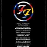 (LO + Visto) Confirmado: 15 de enero #FooFighters regresa a Chile -->http://t.co/d4sDBe0Gsi http://t.co/ojsjYU6OPL