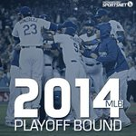 RT @SportsNetLA: Get your bags packed, #Dodgers. You're headed to the 2014 postseason. http://t.co/IsQAIoCcpk