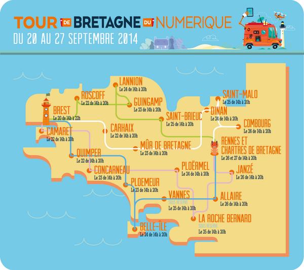 22 villes, une semaine , des fablabs mobiles partout en Bretagne ! #BZHnum14 https://t.co/JDn20MxFX3 http://t.co/8mgo7yTzbG