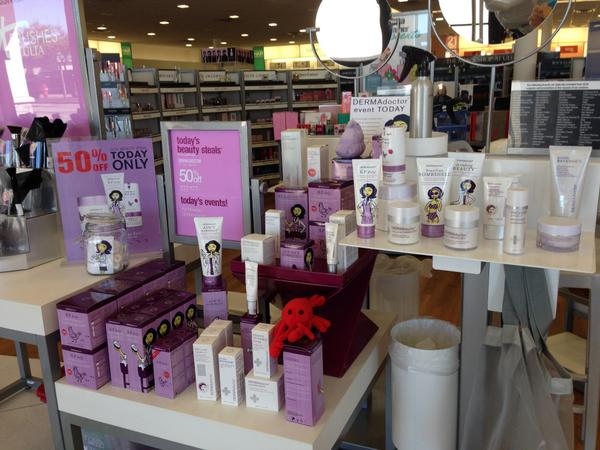 At @ULTA_Beauty for the #ULTA21 Day steal event! Visit @ULTA_Beauty today and receive 50% off our KP Duty Collection! http://t.co/QKBFtZAz19