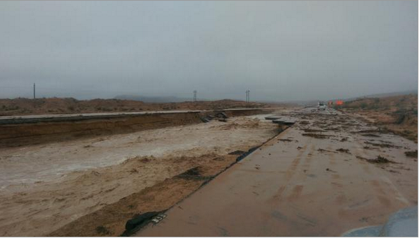 Wow.  MT @LasVegasSun I-15 is totally washed out near mile marker 92. Pics: http://t.co/6vQuglSKbe  http://t.co/6aJmnnNL6C cc: @JimCantore