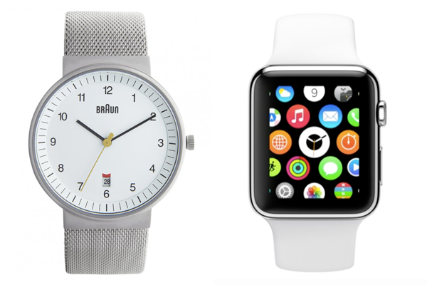 The one time you wished Jony Ive straight up copied Dieter Rams' hardware… #Apple #iWatch #AppleEvent2014 http://t.co/OLhh0G7EYK