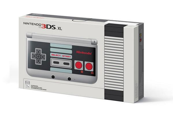 3DS XL NES limited Edition aux USA (♥ω♥ ) ~♪ #nintendo http://t.co/9SQVIdgJqy