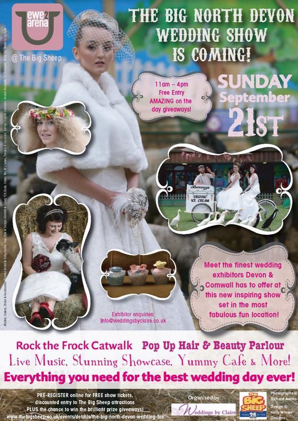 350 pre-show registrations!! Wahoo!! #bridesgetready @bigsheepdayout @lovenorthdevon @Devon_Hour http://t.co/13qRKHCvkV