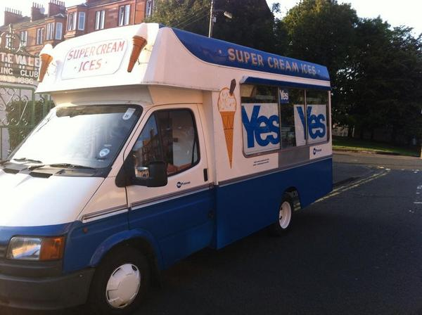 Okay so we did a thing today … @YesProvan #indyref #yes http://t.co/YRbjMJk1Gz