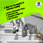 Second question for the quiz contest! Answer with correct response and win exciting goodies from us! #sowrun