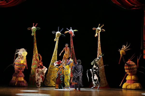 the lion king stage show hits sunderland