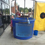 RT @ClemsonTom: Bout to get in this dunk tank @Kidz1stFund @MadisonSocial http://t.co/o4Fg2w18QL