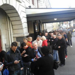 RT @watershitdown: Queues a mile long outside #MOT townhall and thats just the NSA & GCSB operatives. http://t.co/Y8qAqQLFhV