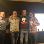 """@Atheharv: What a line up at @talkSPORT - @gareththomas14 @ColinMurray @miketindall13 #Proud http://t.co/3EMU4rKWiB"" cheers guys."