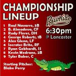 RT @VisaliaRawhide: Here it is; the final lineup for 2014, and hopefully a title-winning one! #RollHide http://t.co/hZ52M1OxhE