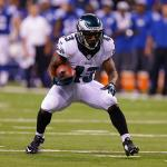 """""""You settle your feet against @DarrenSproles in space, bad things are going to happen."""" -Brian Baldinger http://t.co/58BvEzeAVC"""