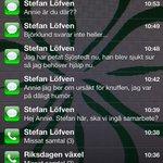Så här ser Annie Lööfs telefon ut idag. @Rodgronrora #roedgroenroera http://t.co/vdBDMPytCJ