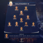 RT @GalatasaraySK: İLK XI: Muslera-Veysel, Chedjou, Semih Kaya, Telles-Dzemaili, Melo, Selçuk-Wesley Sneijder-Goran Pandev, Burak Yılmaz http://t.co/hOEZVYOvep