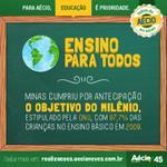 #ViradaDoAécio RT @AecioNeves: Minas tem a melhor educação fundamental do Brasil. http://t.co/6Ro8INwQOy #AécioNaCNBB http://t.co/BqrsdR9duZ