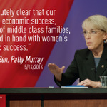 RT @CAPespanol: RT @amprog Hear more from Sen. @PattyMurray TODAY at 11:30am ET at http://t.co/UxVt9KMwJg #Progress4Women http://t.co/UFE0gowxuf