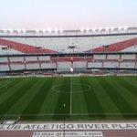 El #Monumental, listo para #River vs. Godoy Cruz. #CopaTOTALSudamericana http://t.co/cIEyIe3tdh
