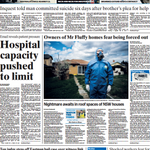 RT @MarkusMannheim: Strong front page full of local news today #Canberra @canberratimes http://t.co/2Os3TV7PZu http://t.co/xgK3KdmtbM