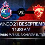 """RT @Rojos_Municipal: Este domingo te esperamos en el estadio """"El Trébol"""" para apoyar al #MimadoDeLaAfición RT http://t.co/FyL787IuqV"""