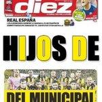 RT @PasionPentaRoja: Mañana en la Portada de @DiarioDiez !! Si son consecuentes!!! #Municipal 3-0 #RealEspaña http://t.co/h3wTAYGp9P