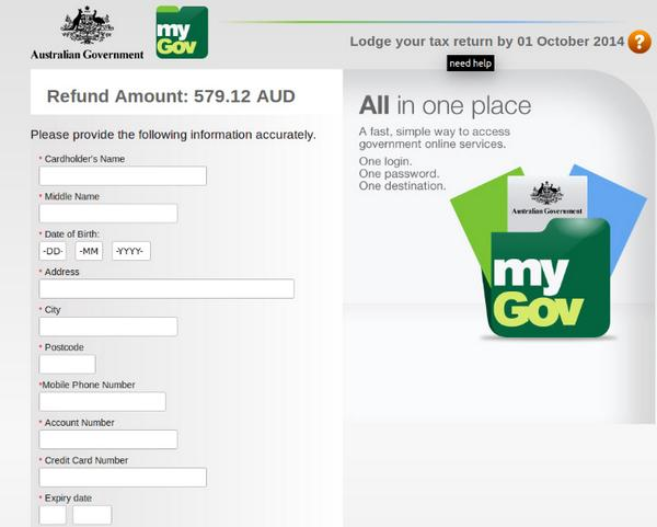 SCAM ALERT: latest scam uses the ATO & myGov logo. RT to keep friends & family safe. Go to https://t.co/1JXcazDmcO http://t.co/oDjXDnhxSp